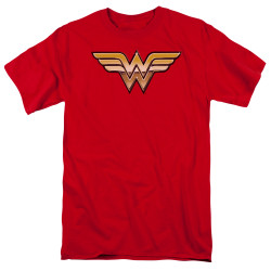 Image for Wonder Woman T-Shirt - Golden Logo