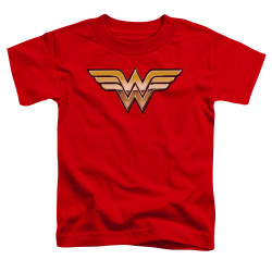 Image for Wonder Woman Golden Logo Toddler T-Shirt