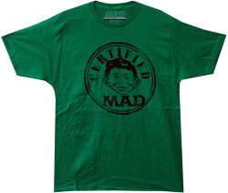 Mad Magazine Alfred E Nuemen Certified Mad T-Shirt