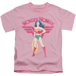Image for Wonder Woman Kids T-Shirt - Sparkle