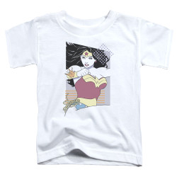 Image for Wonder Woman 80's Minimal Toddler T-Shirt