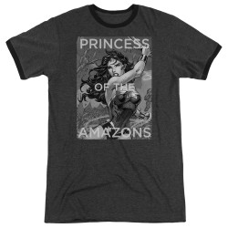 Image for Wonder Woman Ringer - Princess of the Amazons