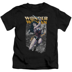 Image for Wonder Woman Kids T-Shirt - Slice