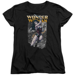 Image for Wonder Woman Womans T-Shirt - Slice