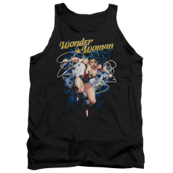 Image for Wonder Woman Tank Top - Starburst