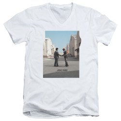 Image for Pink Floyd V Neck T-Shirt - Wish You Were Here