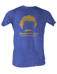 Image for Magnum PI T-Shirt - It's All About the 'Stache