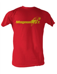 Image Closeup for Magnum PI Parrot Logo T-Shirt