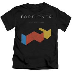 Image for Foreigner Kids T-Shirt - Agent Provocateur