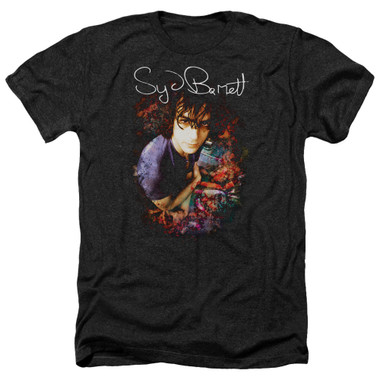 Image for Syd Barrett Heather T-Shirt - Madcap Syd