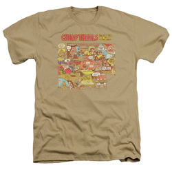 Image for Big Brother and the Holding Company Heather T-Shirt - Cheap Thrills