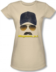 Image for Magnum PI Geared Up Girls Shirt