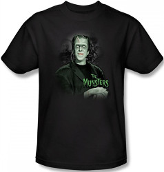 Image Closeup for The Munsters the Man of the House T-Shirt