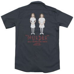 Image for American Horror Story Dickies Work Shirt - Murder