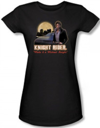 Image for Knight Rider Full Moon Girls Shirt