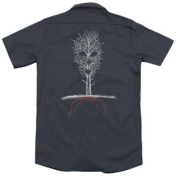 Image for American Horror Story Dickies Work Shirt - Scary Tree