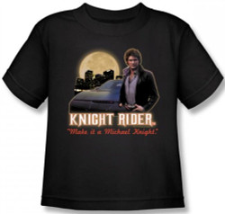Image for Knight Rider Full Moon Kids T-Shirt