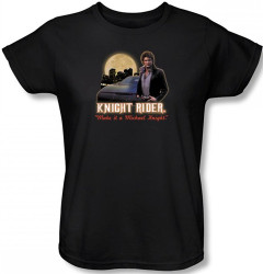 Image for Knight Rider Full Moon Woman's T-Shirt
