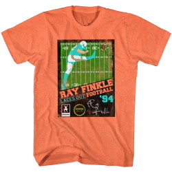 Image for Ace Ventura Pet Detective Heather T-Shirt - Ray Finkle Football '94