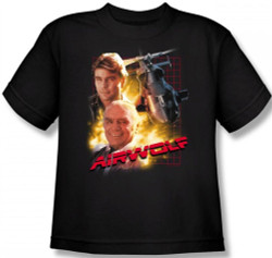 Image for Airwolf Youth T-Shirt