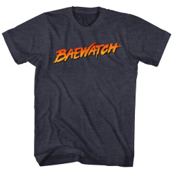 Image for Baywatch Heather T-Shirt - Navy