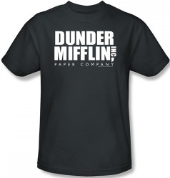 Image for The Office Dunder Mifflin Inc Logo T-Shirt