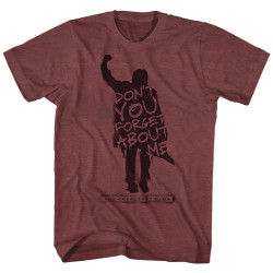 Image for The Breakfast Club Heather T-Shirt - Never Forget