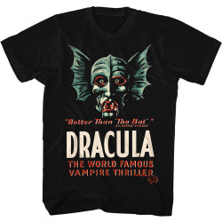 Image for Dracula T-Shirt - Classic Vampire Thriller