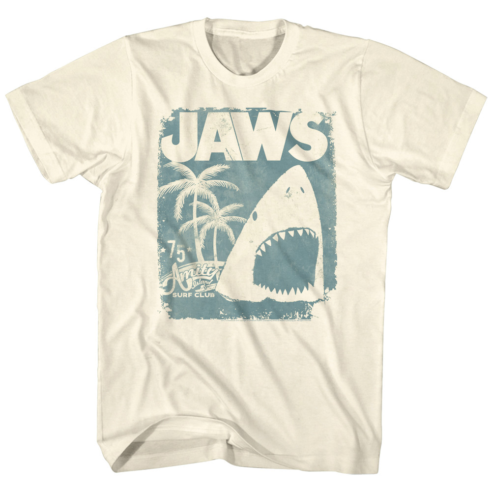 7bc10d4a137 Jaws T-Shirt - Surf Club Poster. Loading zoom