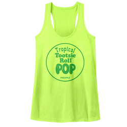 Image for Tootsie Roll Juniors Tank Top - Pineapple