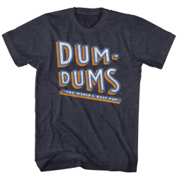 Image for Dum Dums Heather T Shirt - Stacked