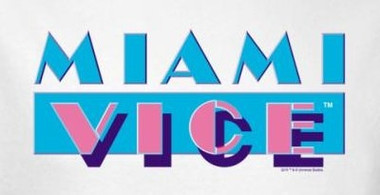 Image for Miami Vice Logo T-Shirt