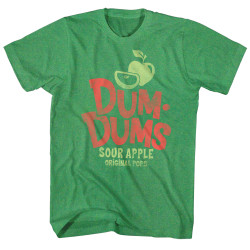 Image for Dum Dums Heather T Shirt - Sour Apple