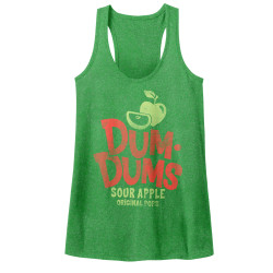 Image for Dum Dums Juniors Tank Top - Sour Apple
