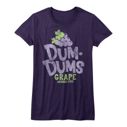 Image for Dum Dums Girls HeatherT-Shirt - Grape