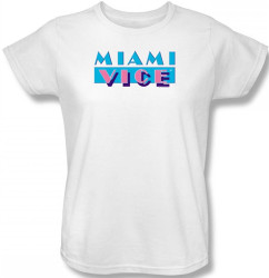 Image for Miami Vice Logo Woman's T-Shirt