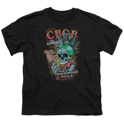 Image for CBGB Youth T-Shirt - City Mowhawk