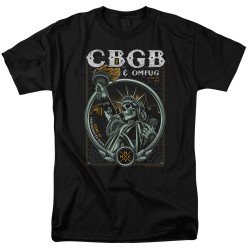 Image for CBGB T-Shirt - Liberty Skull