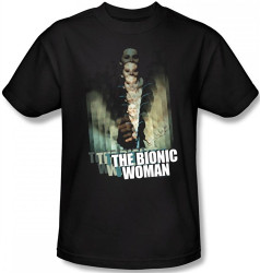 The Bionic Woman Motion Blur T-Shirt