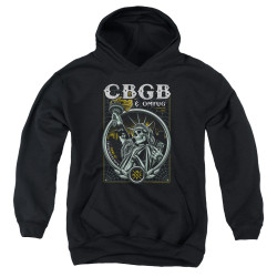 Image for CBGB Youth Hoodie - Liberty Skull