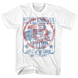 Image for Evel Knievel T-Shirt - 75 Jumps