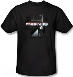 Image Closeup for Warehouse 13 the Unknown T-Shirt