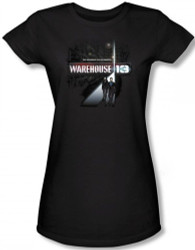 Image for Warehouse 13 the Unknown Girls Shirt