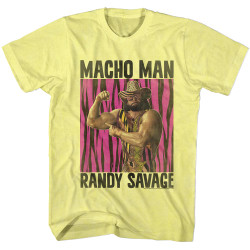 Image for Macho Man Heather T-Shirt - Randy Savage