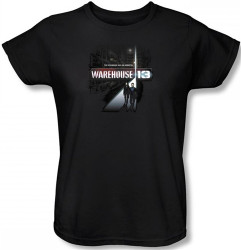 Image for Warehouse 13 the Unknown Woman's T-Shirt