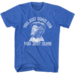 Image for Redd Foxx Heather T-Shirt - Dumb, Son