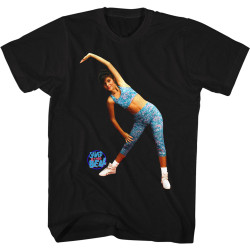 Image for Saved by the Bell T-Shirt - Aerobics