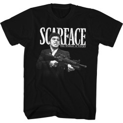 Image for Scarface T-Shirt - The World is Yours Little Friend