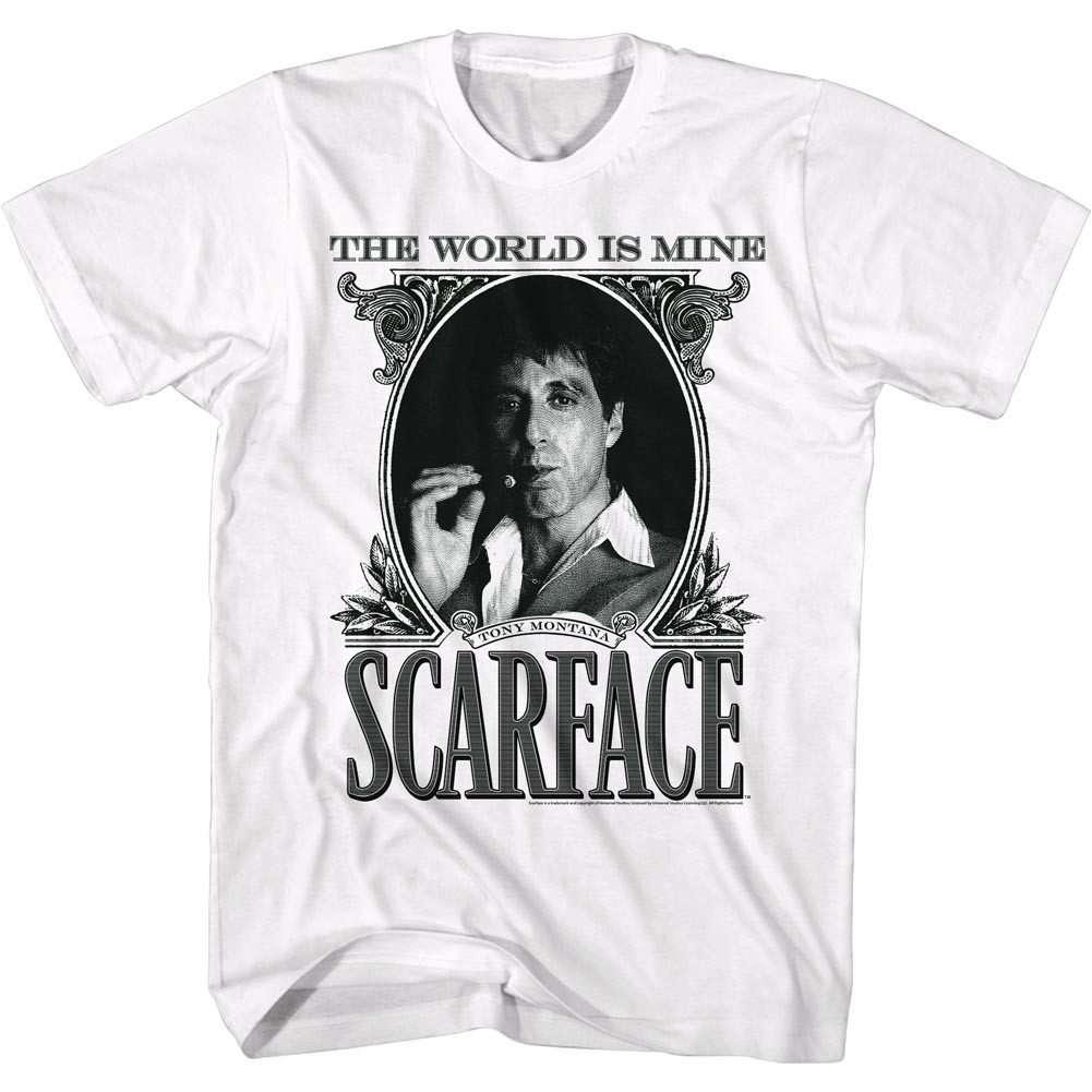 4fe982012eb Scarface T-Shirt - Dollar Face. Loading zoom