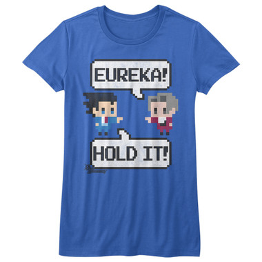 Image for Ace Attorney Girls T-Shirt - 8 Bit